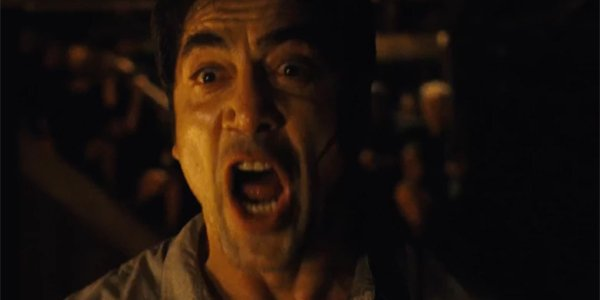 mother! Javier Bardem Screaming