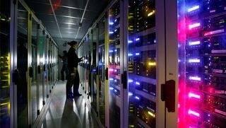A peek inside one of 1 1 s datacentres