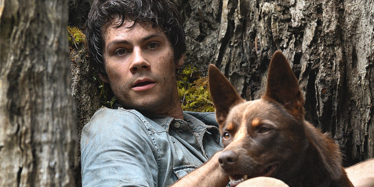 Dylan O'Brien in Love and Monsters.