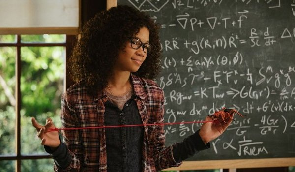 A Wrinkle In Time Storm Reid demonstrates quantum physics with string