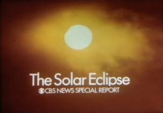 A screenshot of the March 7, 1970 total solar eclipse TV special by CBS news. Until 1951, solar eclipses were only visible to spectators in the right place at the right time to observe the skywatching events. On March 7, 1951, an annular total eclipse was