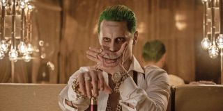Jared Leto as the Joker in his nightclub in _Suicide Squad._