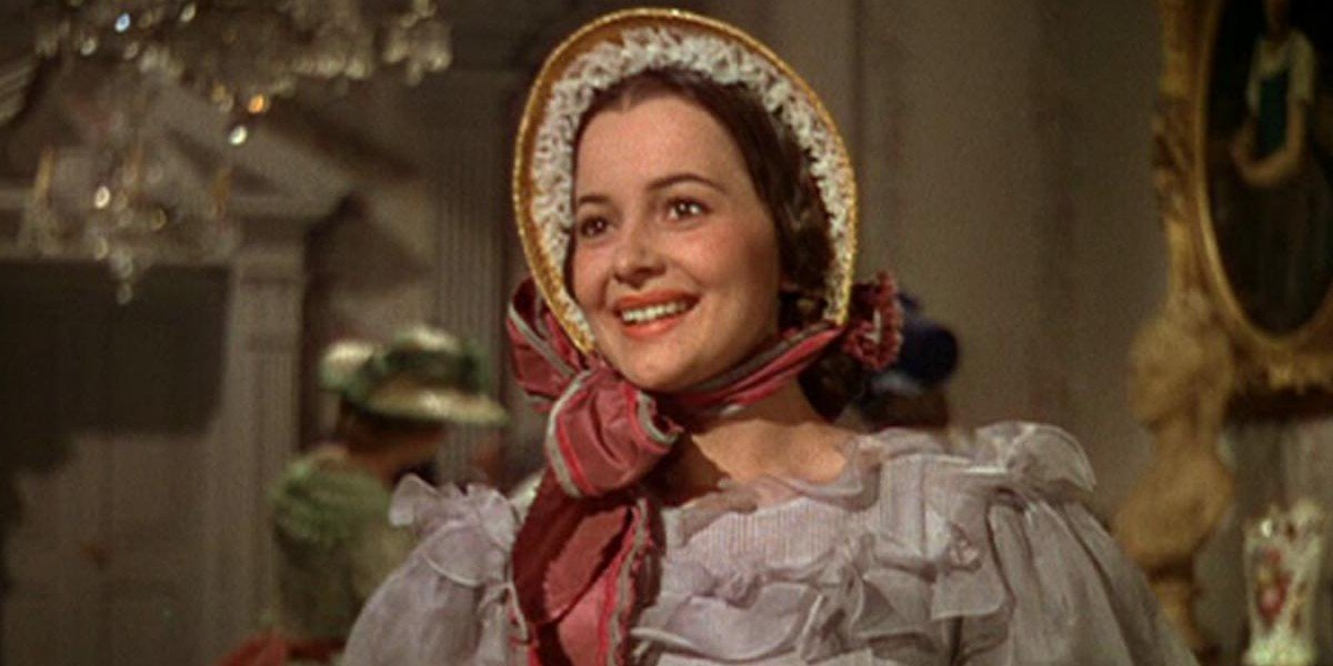 Olivia de Havilland as Melanie Wilkes in Gone with the Wind (1939)