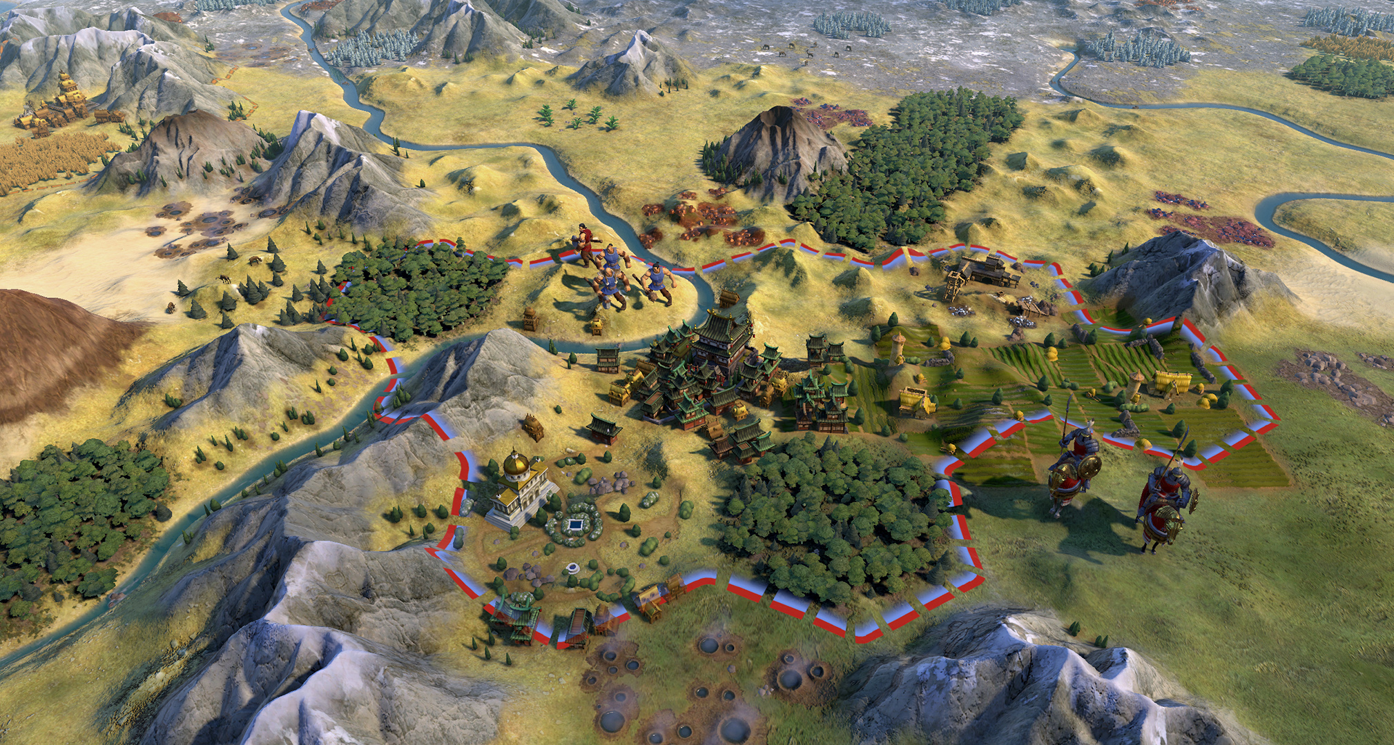 Civilization 6 art director releases a mod that makes it look like