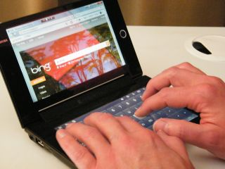 Toshiba Libretto - the world's first Win7 dual touchscreen laptop