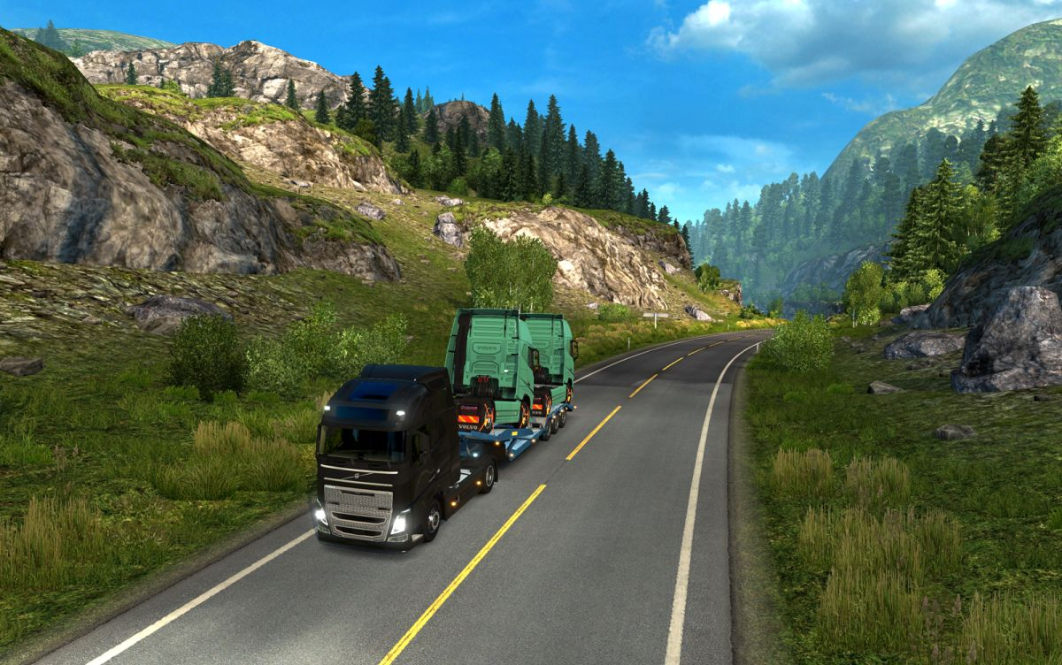 euro truck simulator 2 scandinavia delivers a launch. Black Bedroom Furniture Sets. Home Design Ideas
