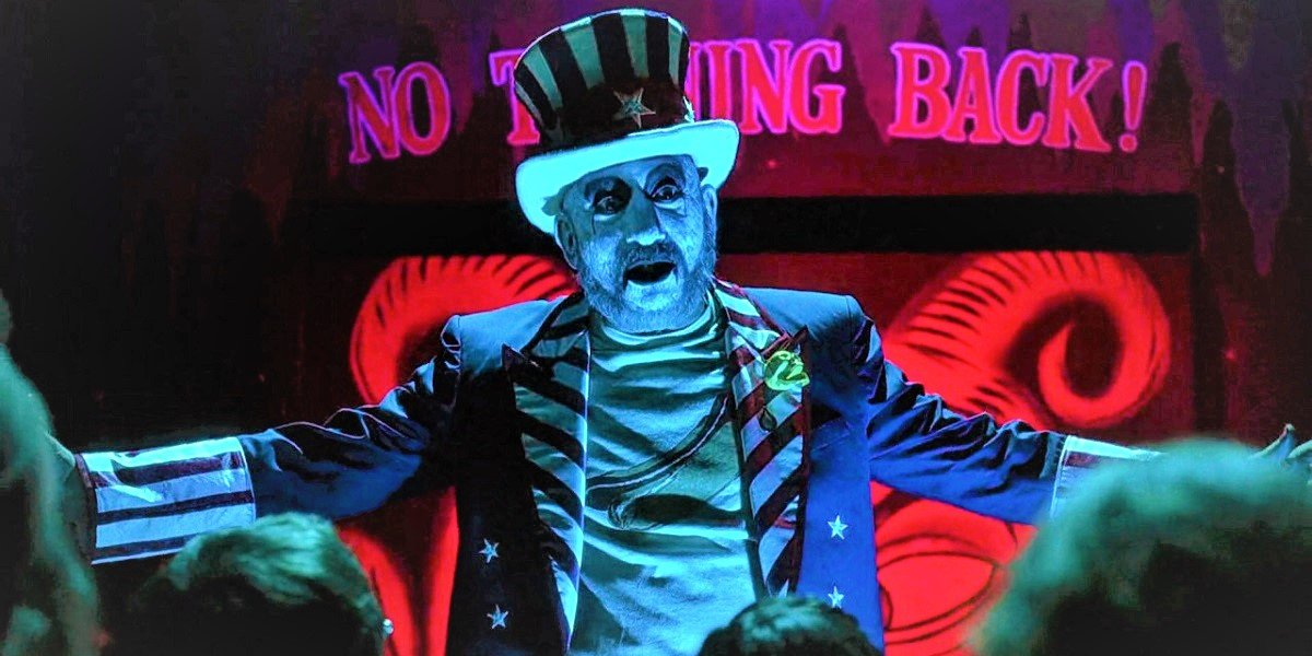 Sid Haig in House of 1000 Corpses