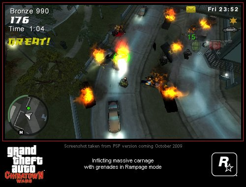 Grand Theft Auto: Chinatown Wars PSP Screenshots #9002