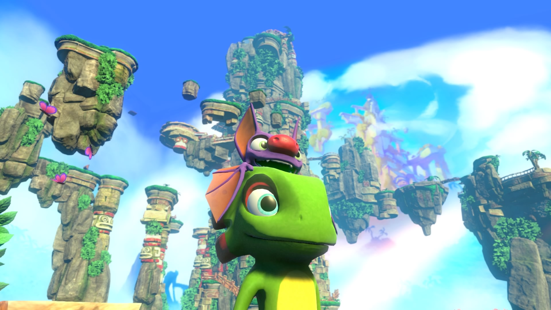 Yooka Laylee Review A Good Natured Platformer That All Too Often Ps4yooka Reg 2 Trips Over Its Own Dated Clumsiness Gamesradar