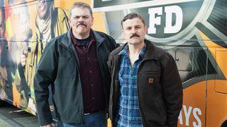 Kevin Heffernan and Steve Lemme of Tacoma FD on TruTV.