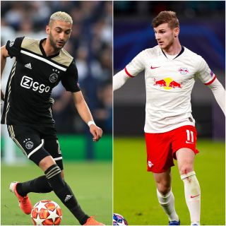 Hakim Ziyech and Timo Werner