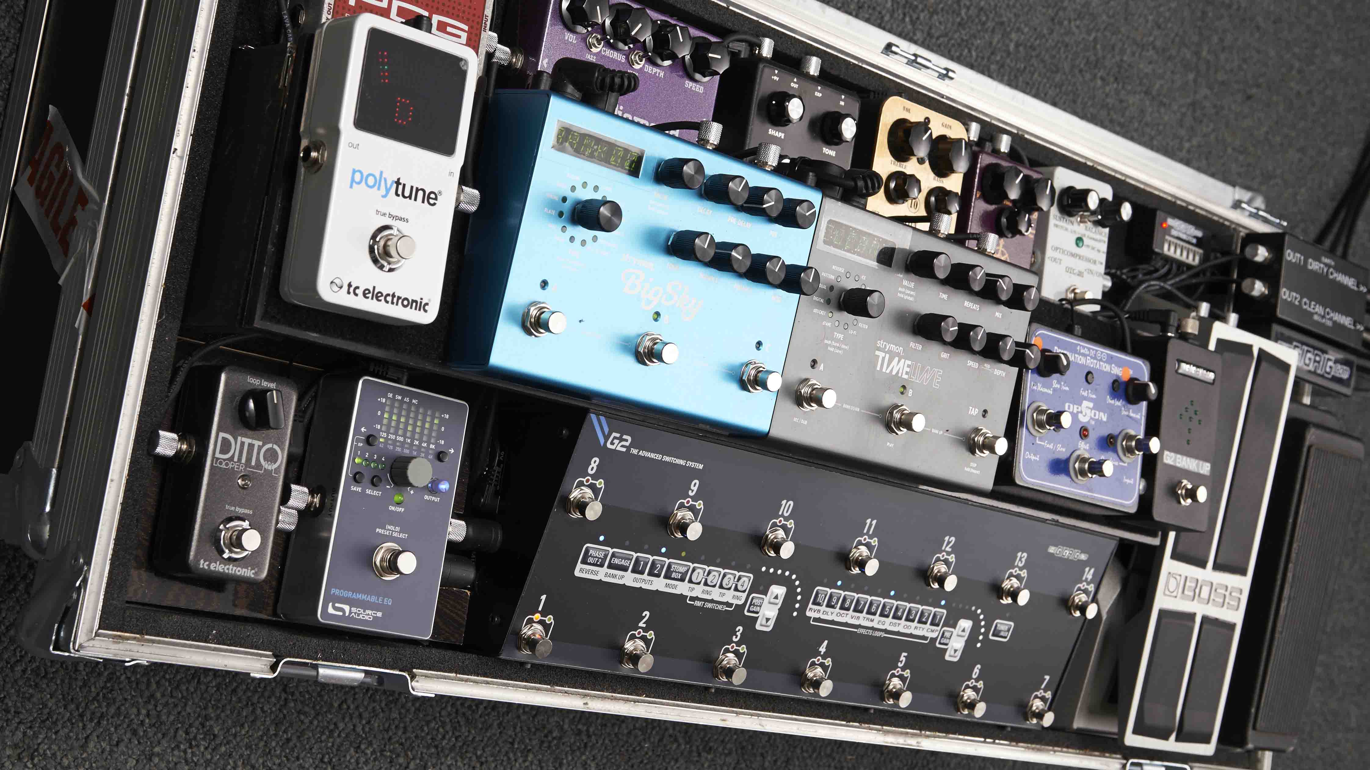 In pictures 36 pro guitarist pedalboards