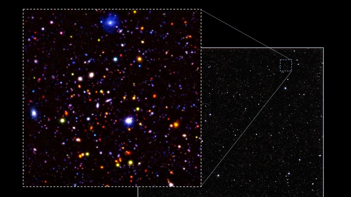 Astronomers have published the deepest ever view of the distant Universe