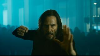 Keanu Reeves als Neo in Matrix Resurrections