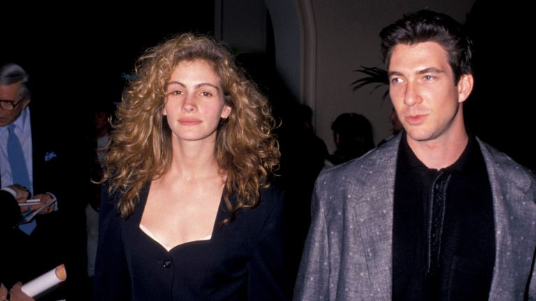 Julia Roberts and Dylan McDermott (Photo by Ron Galella/Ron Galella Collection via Getty Images)