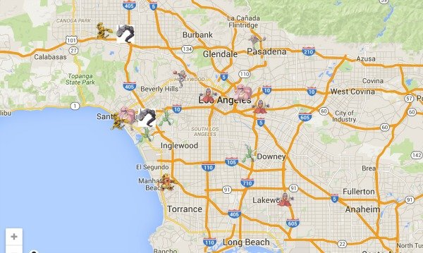 Pokemon Go Los Angeles Map What Are Pokemon Go Nests And How Can You Use Them To Find A Ton