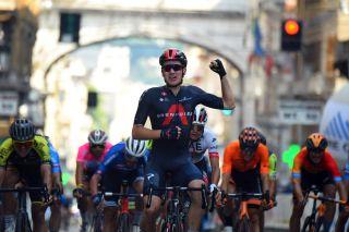 Ethan Hayter (Ineos) wins the Giro dell'Appennino