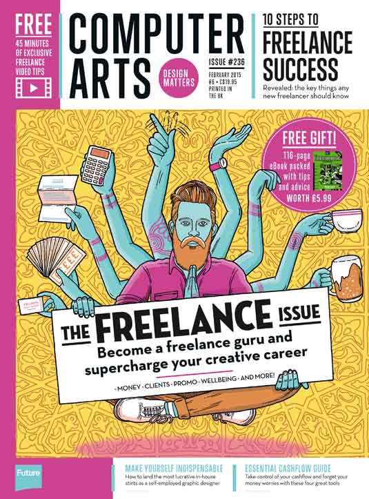 Get a free copy of The Freelance Handbook with the new Computer Arts