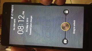 Huawei P6 thin leak black
