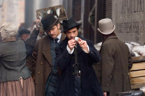 Sherlock Holmes - Jude Law's Doctor Watson & Robert Downey Jr's Sherlock Holmes are on the case in Guy Ritchie's period adventure caper