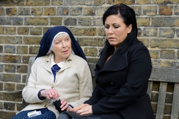 June Whitfield Jessie Wallace EastEnders
