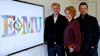 Kevin Nixon, Bruce Dickinson and Sarah Clayman have set up E-Mu to give musicians a chance to kick-start their musical education