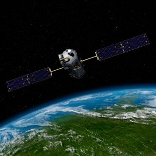 Artist's Rendition of the OCO-2 Observatory