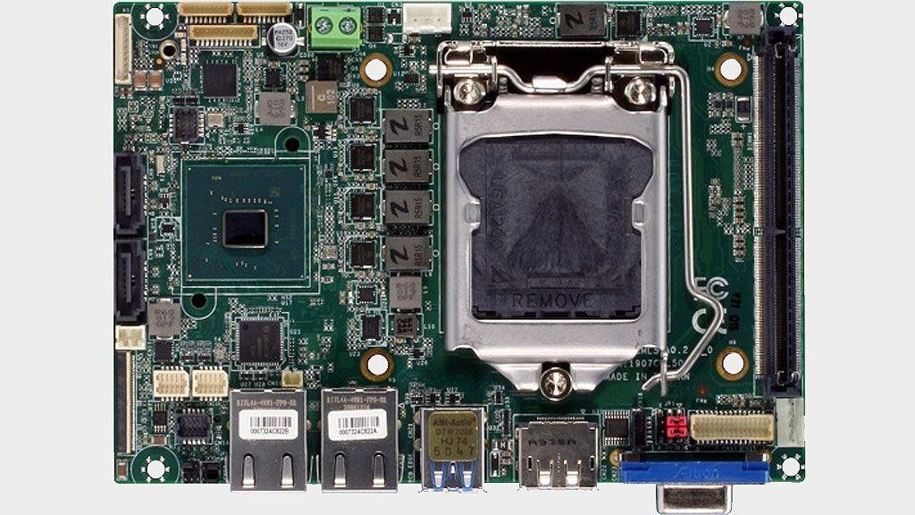 Check out this Intel Comet Lake motherboard that's smaller than your hard drive
