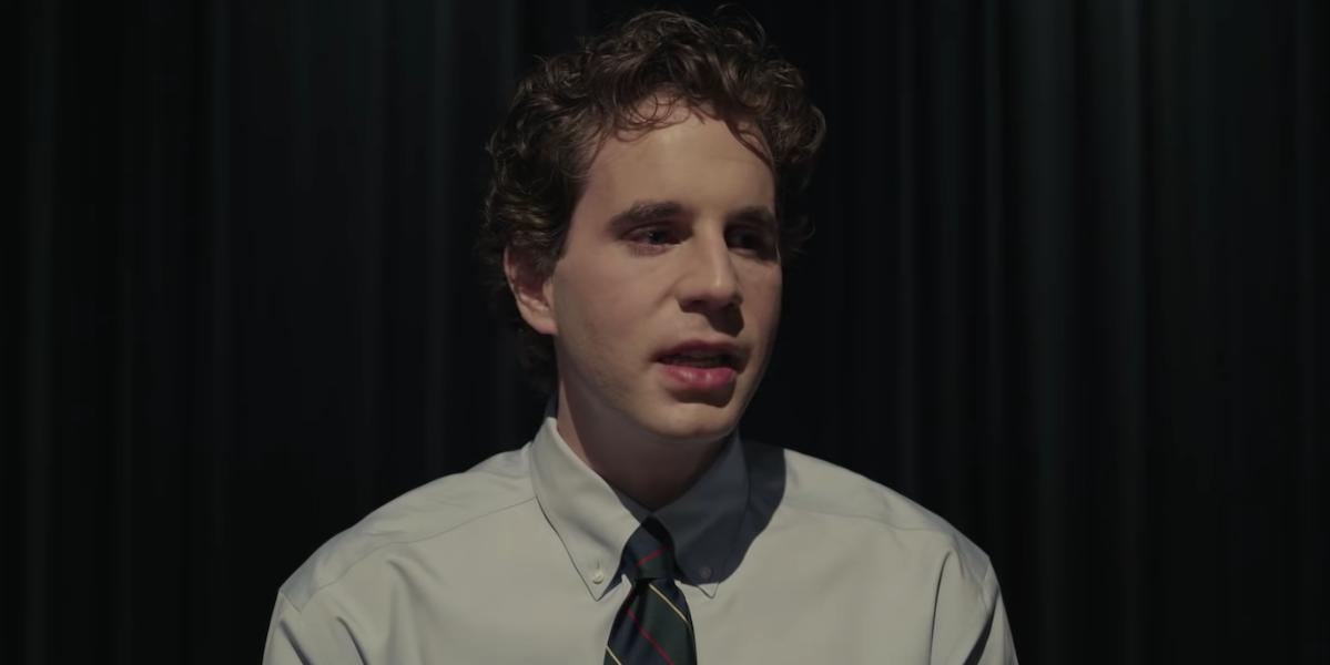 Ben Platt in Dear Evan Hansen's Trailer
