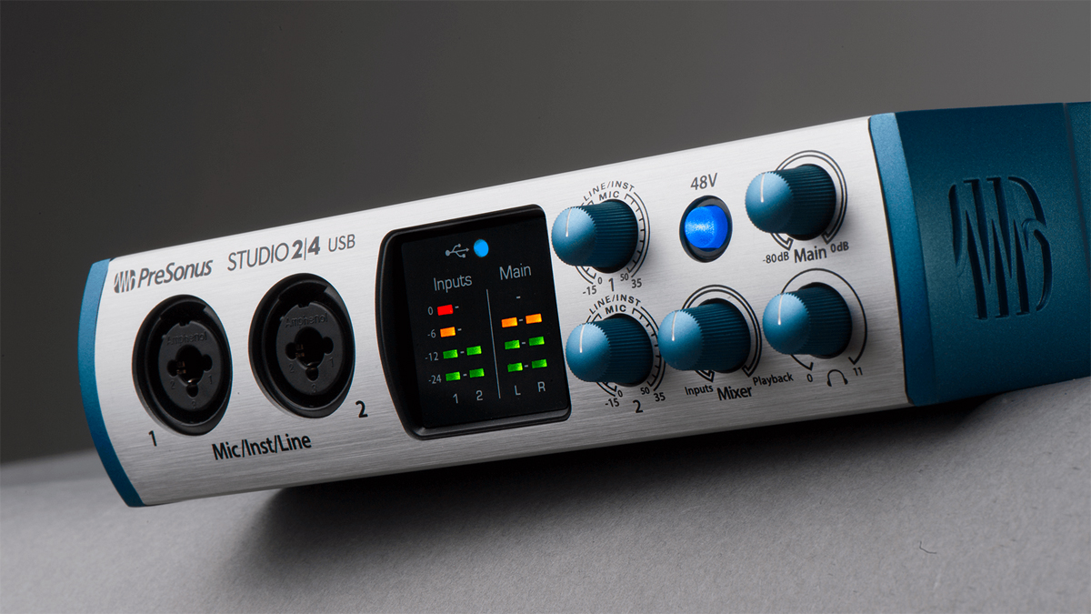 PreSonus's Studio 2 4 is a compact and affordable USB-C