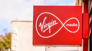 Virgin Media sign
