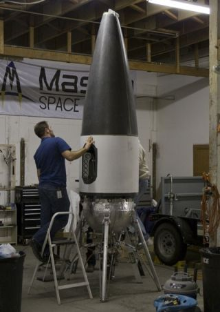 Masten's Xaero Spacecraft