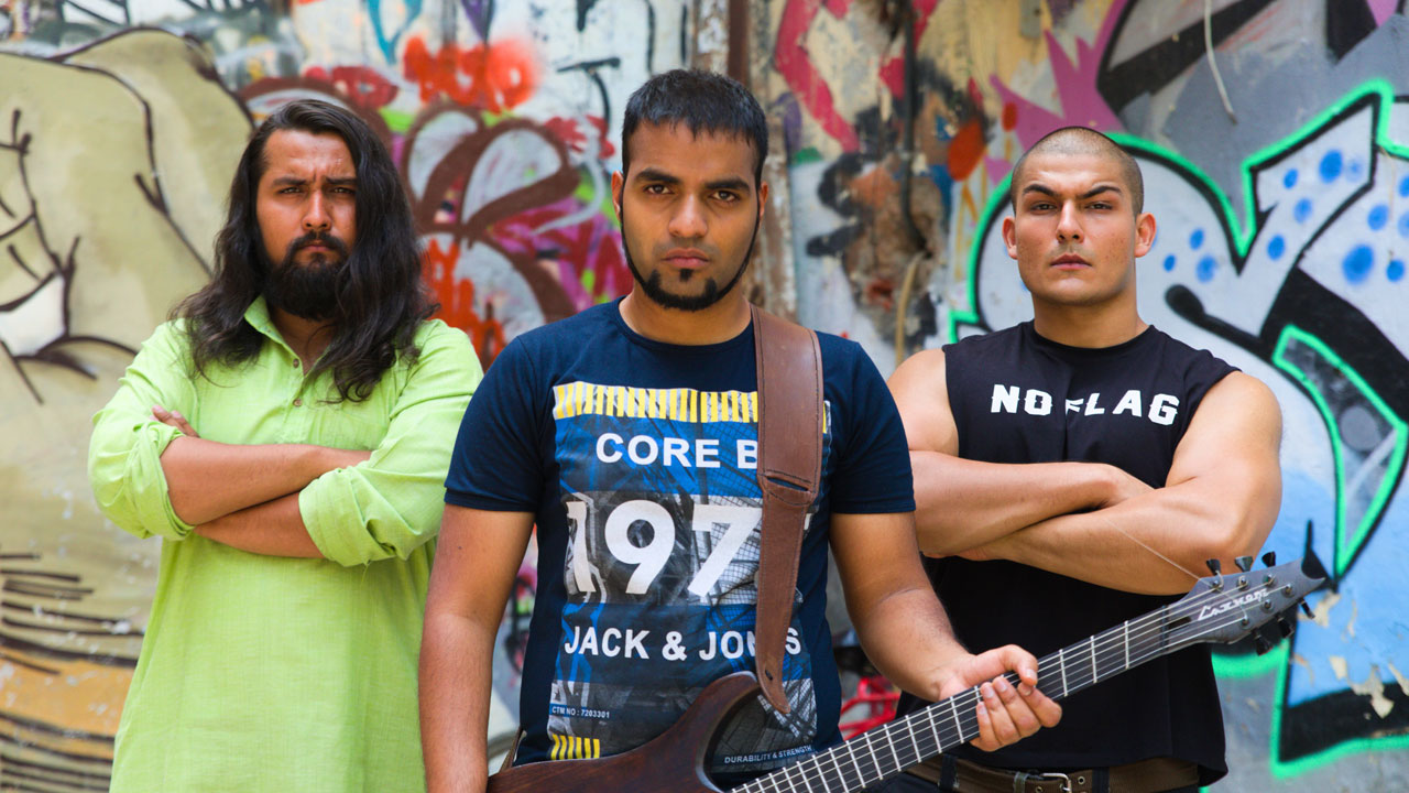 Meet Bloodywood, the Indian metal act with a feel-good hit and a