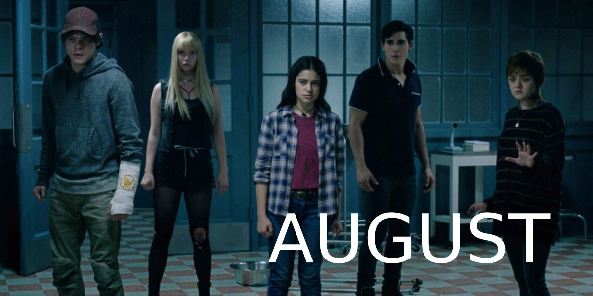 The New Mutants August 2020