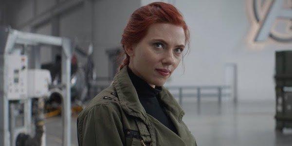 Scarlett Johansson as Black Widow in Avengers: Endgame