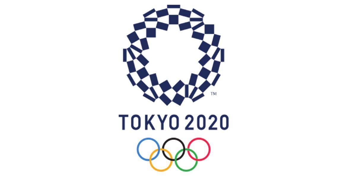 The 2020 Olympics logo
