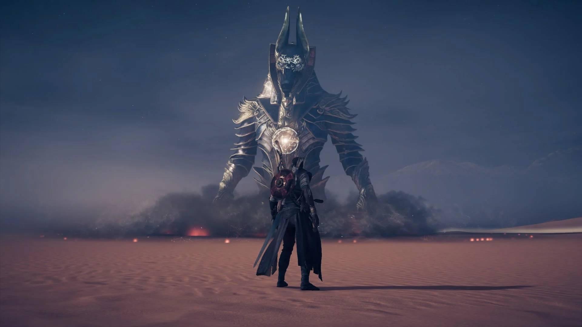 How To Beat Anubis In Assassin S Creed Origins Gamesradar