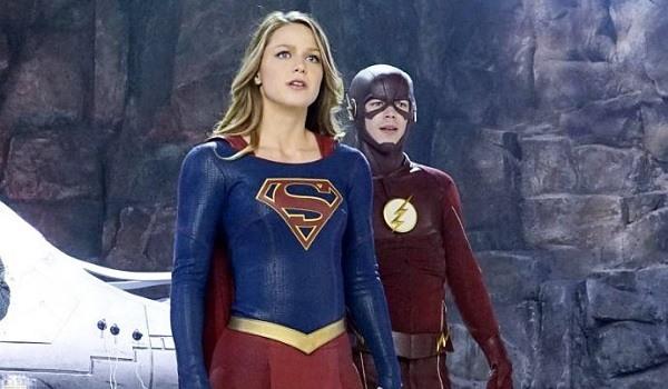 supergirl the flash crossover kara danvers barry allen