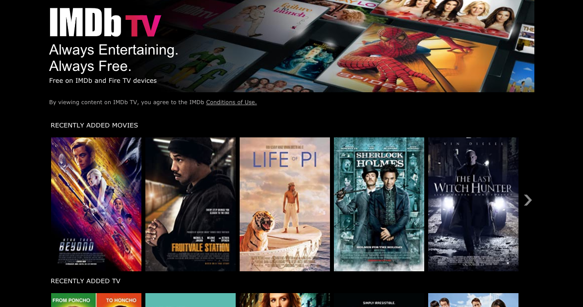 IMDb TV: Everything You Need to Know About the Amazon's Free, Ad-Supported Streaming Business | Next TV