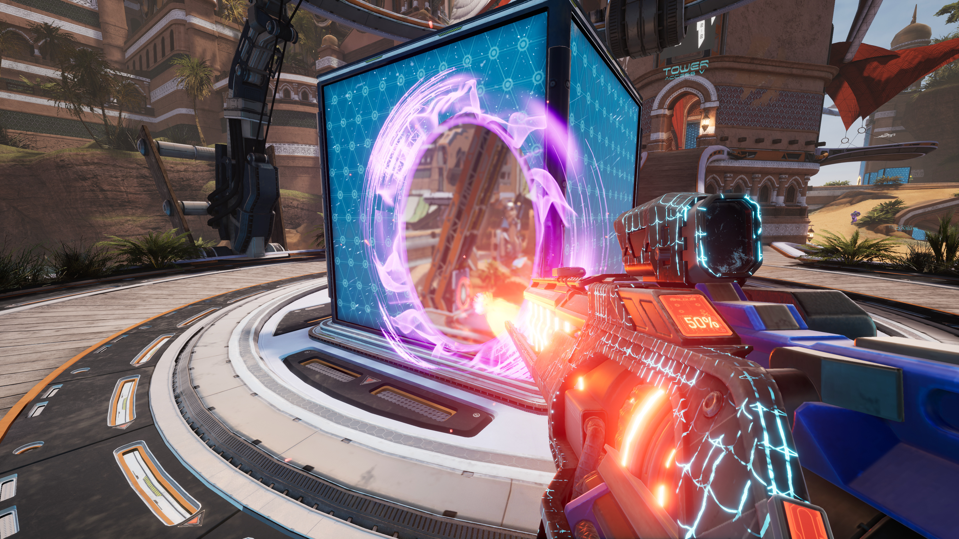 Splitgate, one of the most popular games on Steam, is only 25% finished