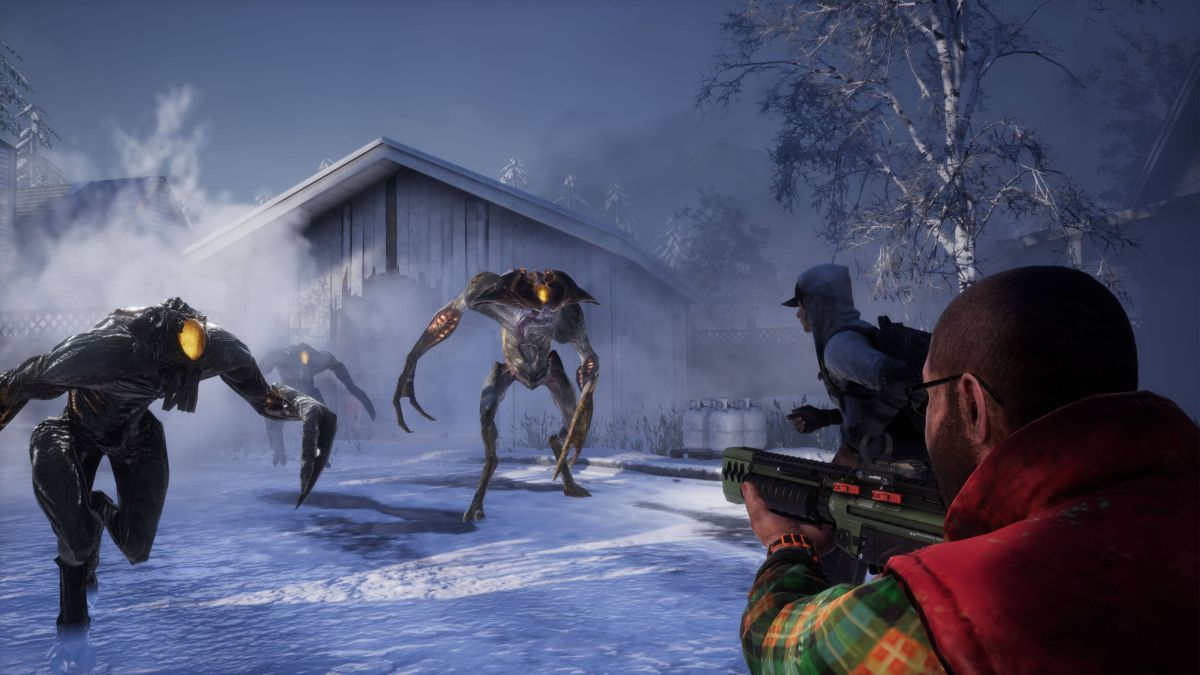 Earthfall, a co-op shooter that mixes Left 4 Dead with Fortnite, leaves Early Access in July