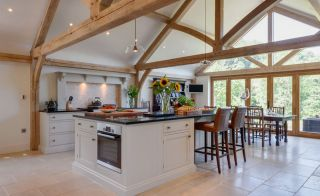 Extension by Welsh Oak Frame