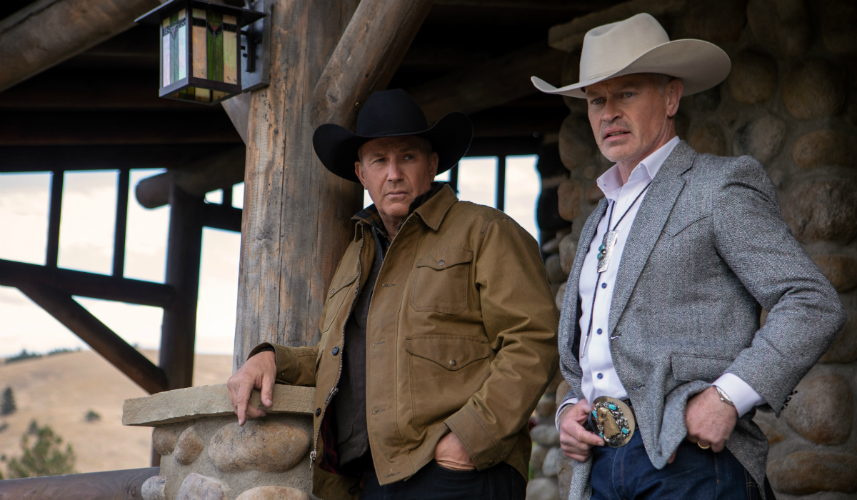 Yellowstone John Dutton Kevin Costner Malcolm Beck Neal McDonough Paramount Network