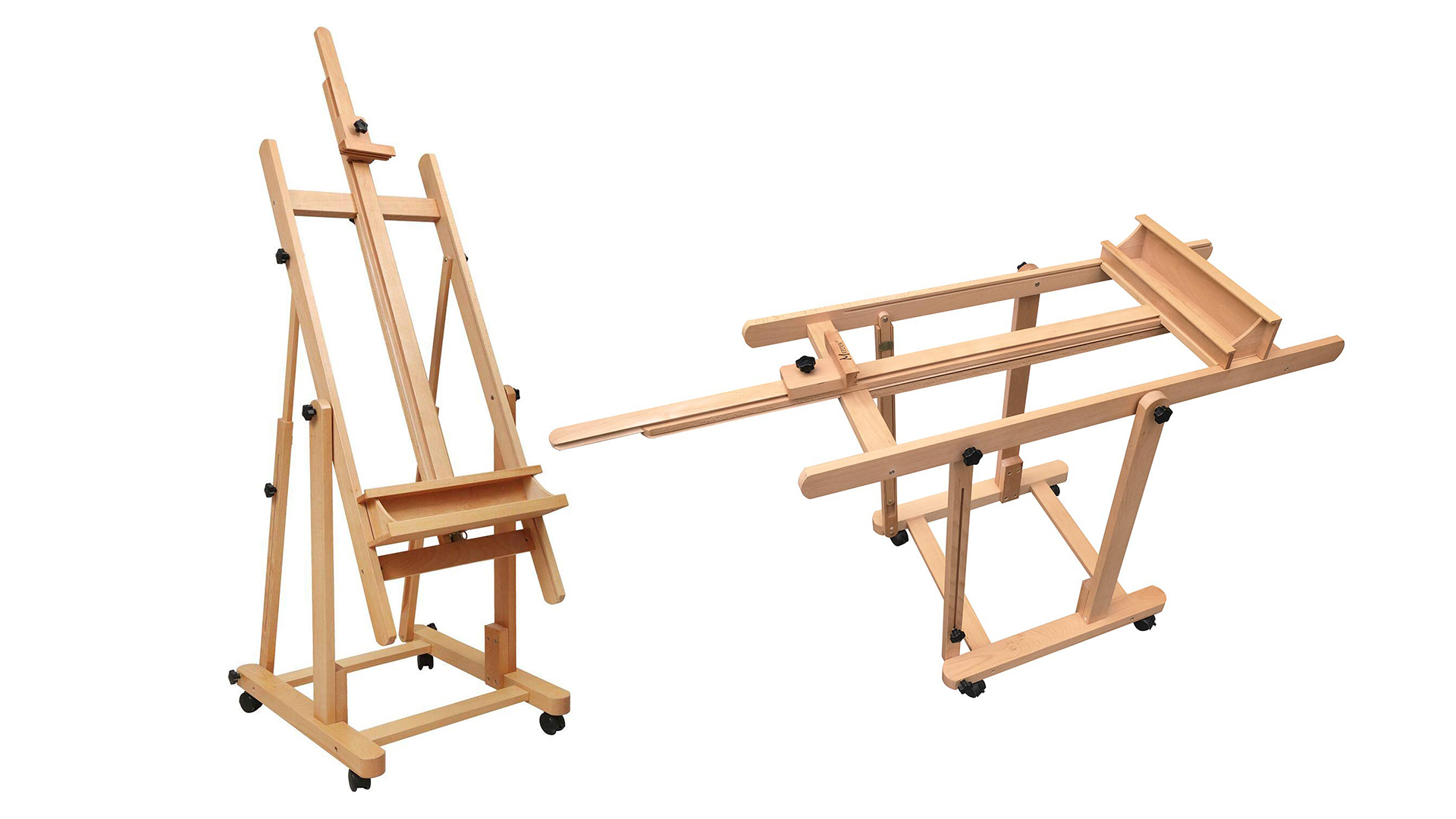 art easel: Heavy Duty Large H-frame Studio Easel