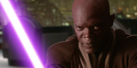 Star Wars Shared A Teasy Photo Of Samuel L. Jackson As Mace Windu Claiming The Party Was 'Just Beginning'