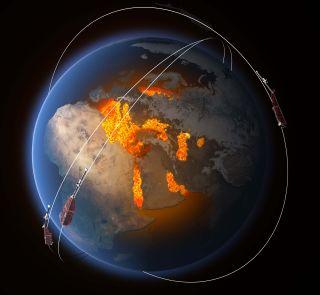 ESA's Swarm Satellites