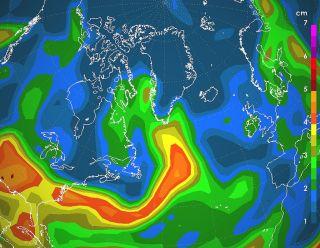 Greenland atmospheric river
