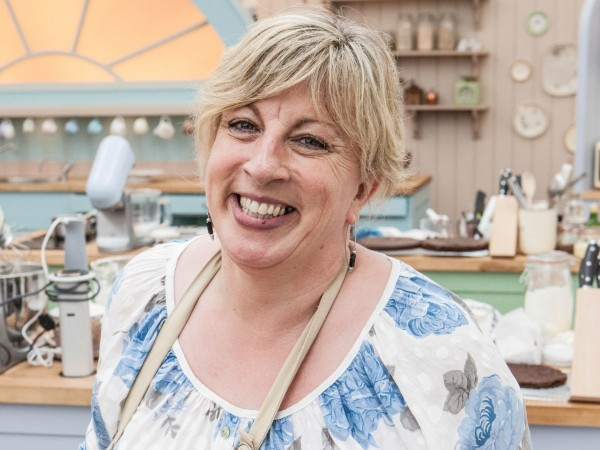 Sandy from Great British Bake Off