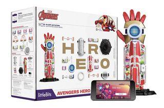 The littleBits Marvel Avengers Hero Inventor Kit