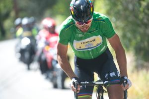 Peter Sagan attacks on stage seven of the 2016 Tour of California